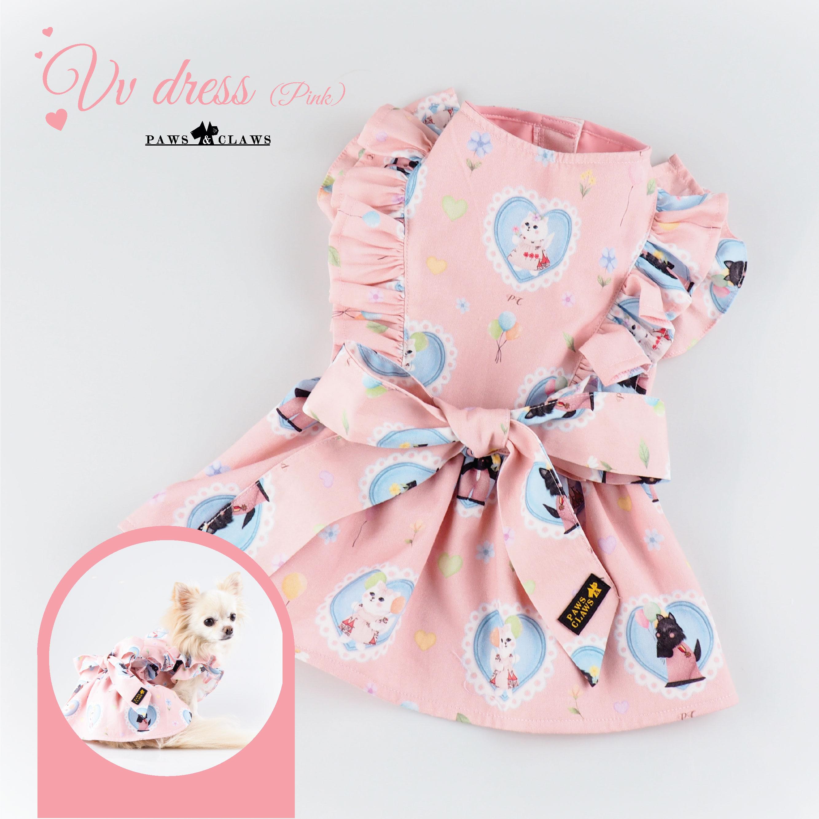 VV dress (Pink)