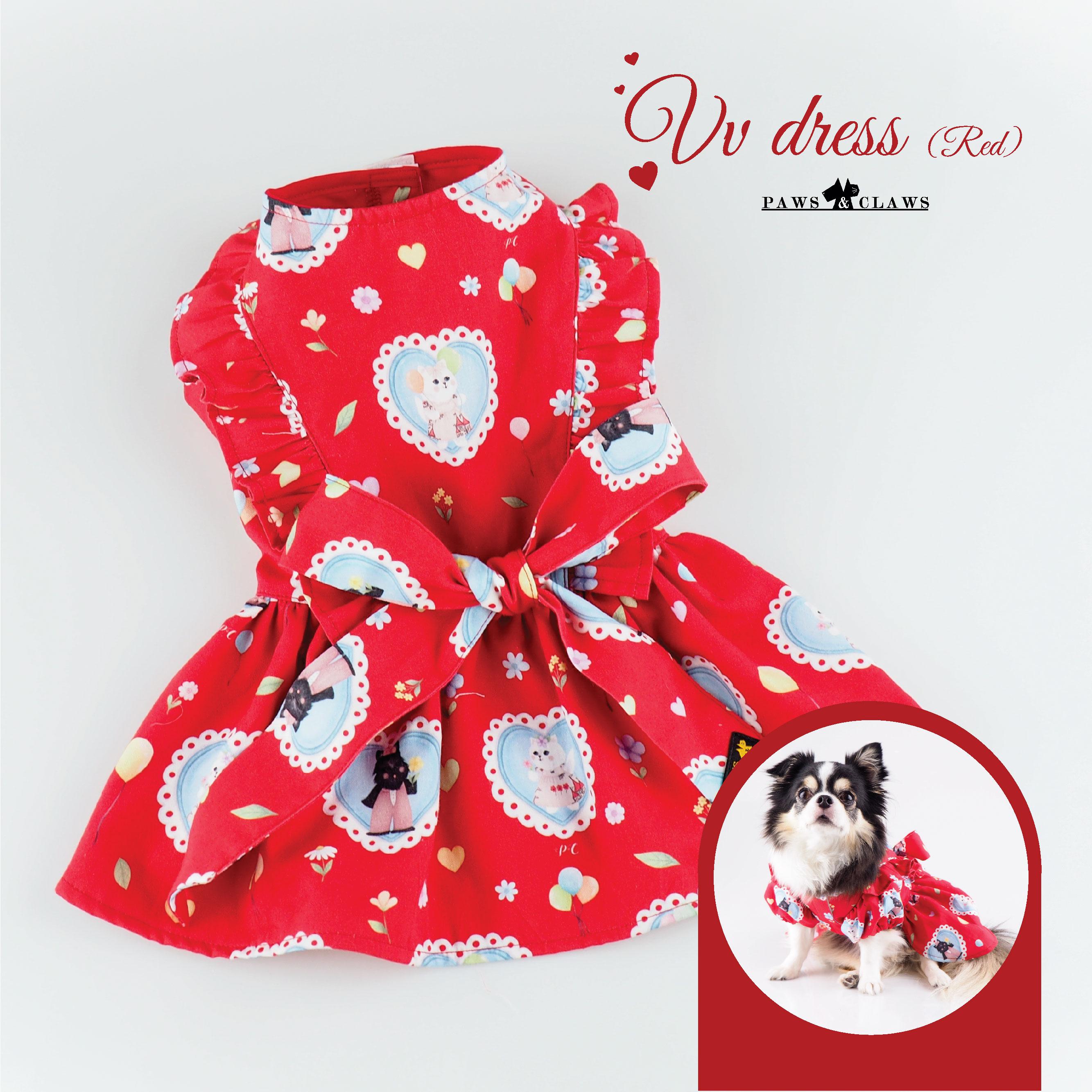 VV dress (Red)